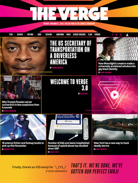 the verge content